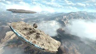getlinkyoutube.com-ПОЛЕТ НА СОКОЛЕ! Star Wars: Battlefront — На русском!  #3(HD) Играем первыми