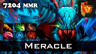 getlinkyoutube.com-Meracle Weaver 7204 MMR 31 kills Dota 2