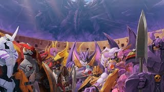 getlinkyoutube.com-All Royal Knights Battles 全ロイヤルナイツ戦 (デジモンストーリー サイバースルゥース)