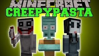 getlinkyoutube.com-Minecraft: CREEPYPASTA (BEWARE, EVIL AWAITS YOU!) Mod Showcase