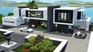 getlinkyoutube.com-The Sims 3 Seaside Modern House NO CC
