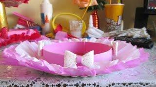 getlinkyoutube.com-Como Fazer um Prato Decorado ou Baleiro Para Festas Infantis