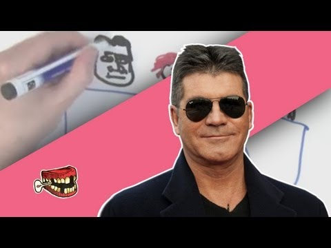 Simon Cowell: Draw My Life // Bad Teeth