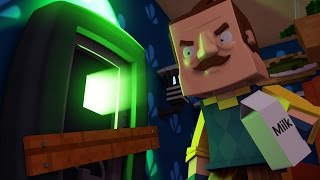 getlinkyoutube.com-Minecraft | Hello Neighbor - NEW UPDATE! (Hello Neighbor in Minecraft)