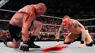 getlinkyoutube.com-مباراة جنونية #11 | بروك ليسنر ضد راندي اورتن - كاملة