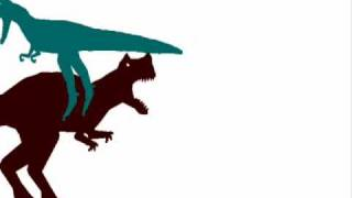 getlinkyoutube.com-JBA - Nanotyrannus vs Ceratosaurus