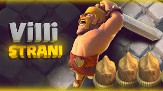 getlinkyoutube.com-VILLAGGI STRANI - DOPPIE PIETRE RARE E TITANI LVL 70 NO Mura! CLASH OF CLANS
