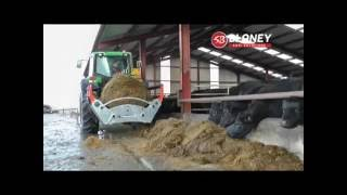 The Blaney Agri Forage X10 Bale Unroller