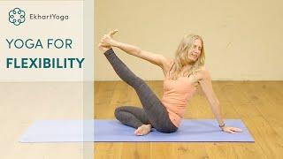 Gain and sustain your flexibility - a Hatha yoga class