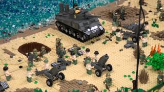 getlinkyoutube.com-LEGO WWII Brickmania display - Brickworld Chicago 2013
