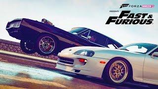 getlinkyoutube.com-NEW DLC FORZA Horizon 2  - Dom's Car! Customizing & RACING - FAST & FURIOUS 7 Car Pack (FURIOUS 7)