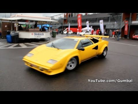 Lamborghini Countach LP400 S !! Lovely sound! 1080p HD