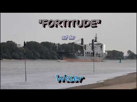 Click to view video FORTITUDE - IMO 9402079 - Germany - Weser - Brake - 08.09.2014