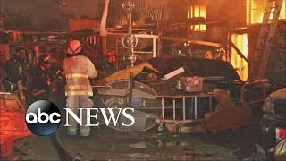 getlinkyoutube.com-Oakland Warehouse Fire Claims at Least 9 Lives