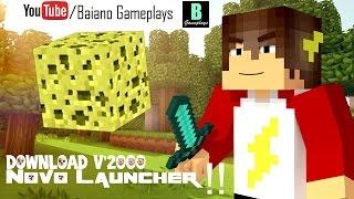 getlinkyoutube.com-Como Baixar Minecraft Todas As Versões -Shiginima Launcher /2016)