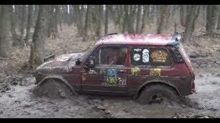 gaz 66,niva 3d,UAZ,Nissan Patrol vs mud off-road 4x4