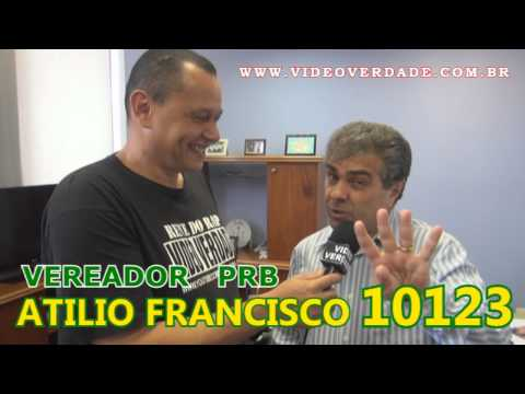 VEREADOR BISPO ATILIO FRANCISCO NO VIDEO VERDADE COM RENE DO RAP