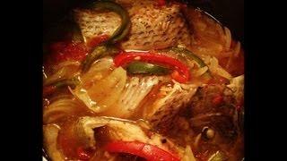 getlinkyoutube.com-recette bouillon de poisson -(TILAPIA)