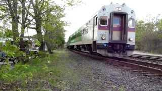 getlinkyoutube.com-MBTA Commuter rail trains through Framingham, MA