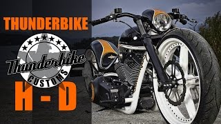 "getlinkyoutube.com-Harley Davidson Screamin' Eagle RS ""R-Odynamic"" by ThunderBike 
