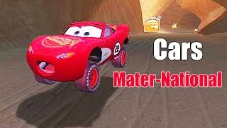 CARS Mater National - Funny Video Road Race - Fillmore's Nature Preserve