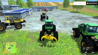 Farming Simulator 15 PC Mod Showcase: Tree Skidders