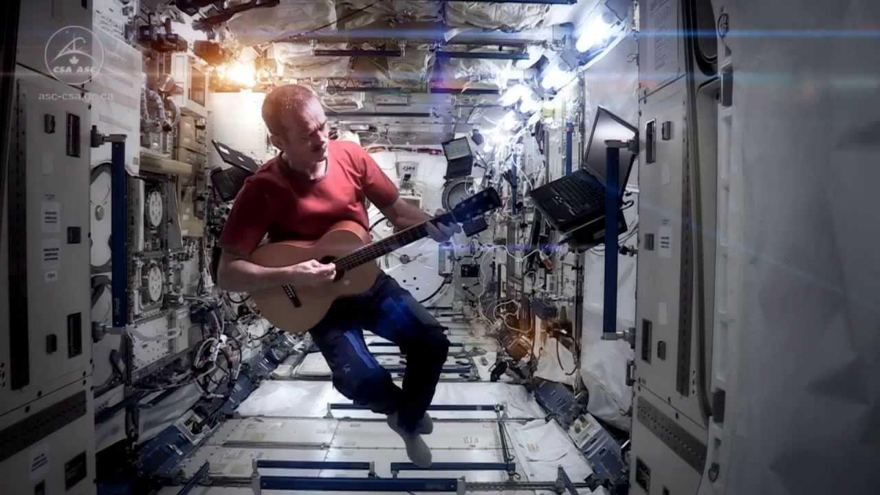 video musik pertama berhasil direkam di antariksa
