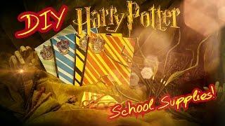 getlinkyoutube.com-DIY Harry Potter School Supplies! Easy & Fun School Supply How To
