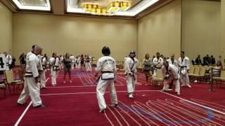 getlinkyoutube.com-Tang Soo Do Tournament Sparring - Master Nick Capuozzo vs Master Matt DiGiacomo