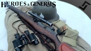 M1C Garand Sniper Rampage - Heroes and Generals - US Soldier Gameplay
