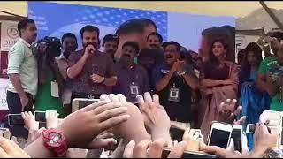 Inauguration film star gold shop in Kerala crowd