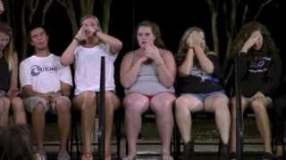 "Professional Hypnotist says, ""Lose Your Clothes!"""