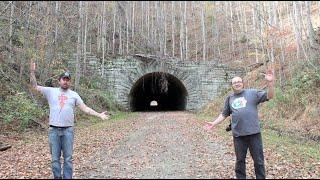 getlinkyoutube.com-The Road To Nowhere - ABANDONED Mountain Tunnel