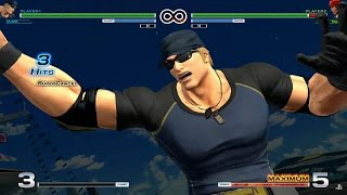 getlinkyoutube.com-King of Fighters XIV: All Supers and Climax Attacks!