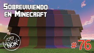 getlinkyoutube.com-Sobreviviendo en Minecraft #76 - Decoración multicolor
