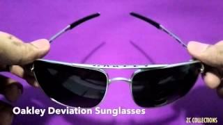 ZC COLLECTIONS Oakley Deviation Sunglasses Review