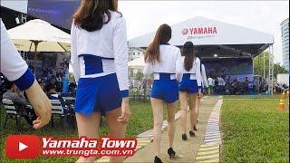 getlinkyoutube.com-Xe và Người đẹp bốc lửa tại Đại hội Exciter - Yamaha Y-Riders 2016 Đà Nẵng ✔