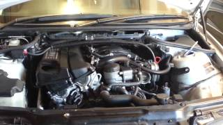 getlinkyoutube.com-Replace oil separator, crankcase ventilator, CCV on BMW E46 N42 motor 318i 2003 part 1