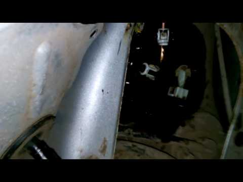 Снятие бензонасоса Honda Prelude 5