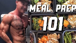 getlinkyoutube.com-Beginners Guide To Meal Prep | Chicken & Rice