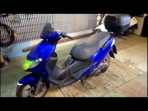 Ремонт моего Suzuki Address 110. Часть 1./Repair of my scooter Suzuki Address 110