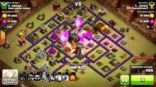 getlinkyoutube.com-Clash Of Clans TH9 3 Star Dragloon Attack