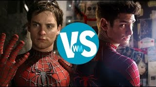 getlinkyoutube.com-Tobey Maguire vs. Andrew Garfield as Spider-Man