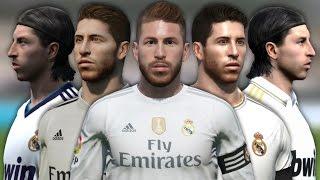 getlinkyoutube.com-Sergio Ramos from FIFA 06 to 16 (Face Rotation and Stats)