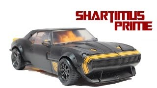 getlinkyoutube.com-Transformers 4 Age of Extinction High Octane Bumblebee Deluxe Class Movie Action Figure Review