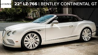 "Bentley Continental GT Speed on 22"" Lexani Wheels"