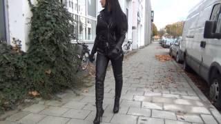 getlinkyoutube.com-leather fantasy #7 - fetish diva nadja