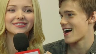 """Descendants"" Cast Interviews: Dove Cameron, Cameron Boyce, Sofia Carson"