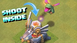 FIRE BACK INSIDE WEAPONS!!!😀HOW TO 3 STAR FARM😀Clash Of Clans