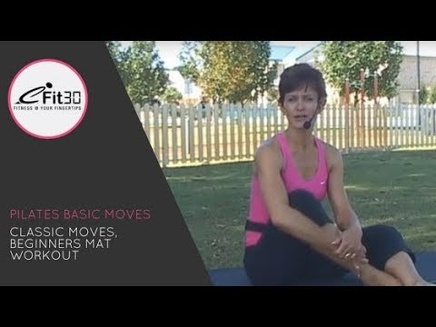 Pilates Classic moves - FULL workout - eFit30